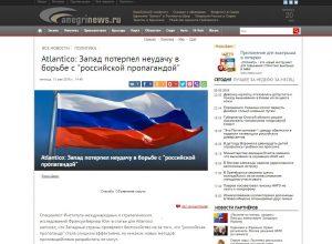 Website screenshot de AnegrinNews