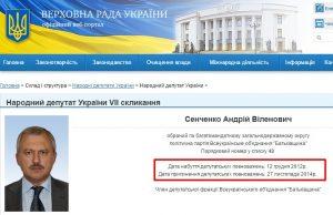 Website screenshot de rada.gov.ua