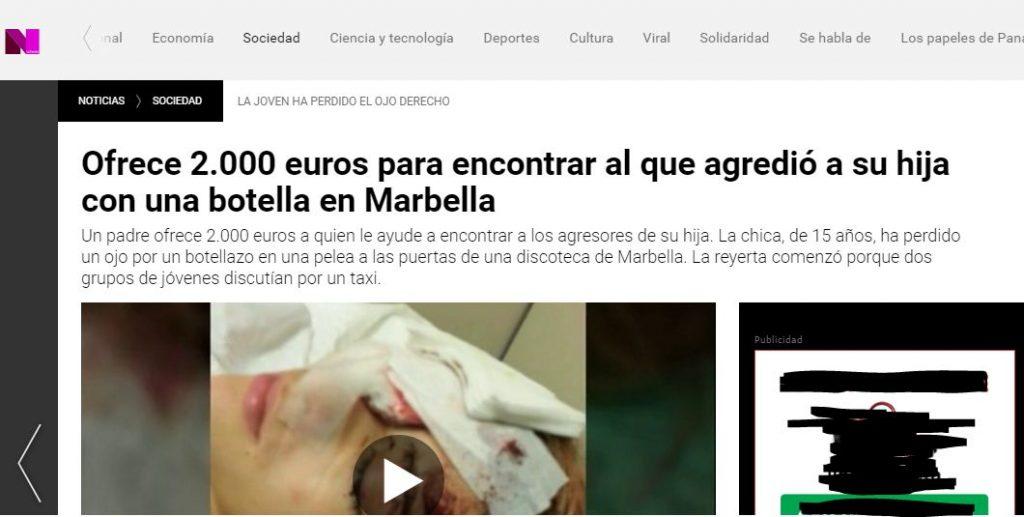 La publicación de La Sexta subida el 2 de mayo de 2016