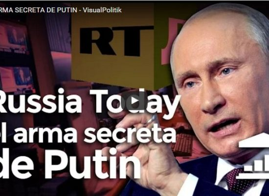 VisualPolitik: RT es el ARMA SECRETA DE PUTIN