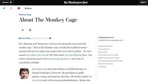 Website screenshot Washington Post