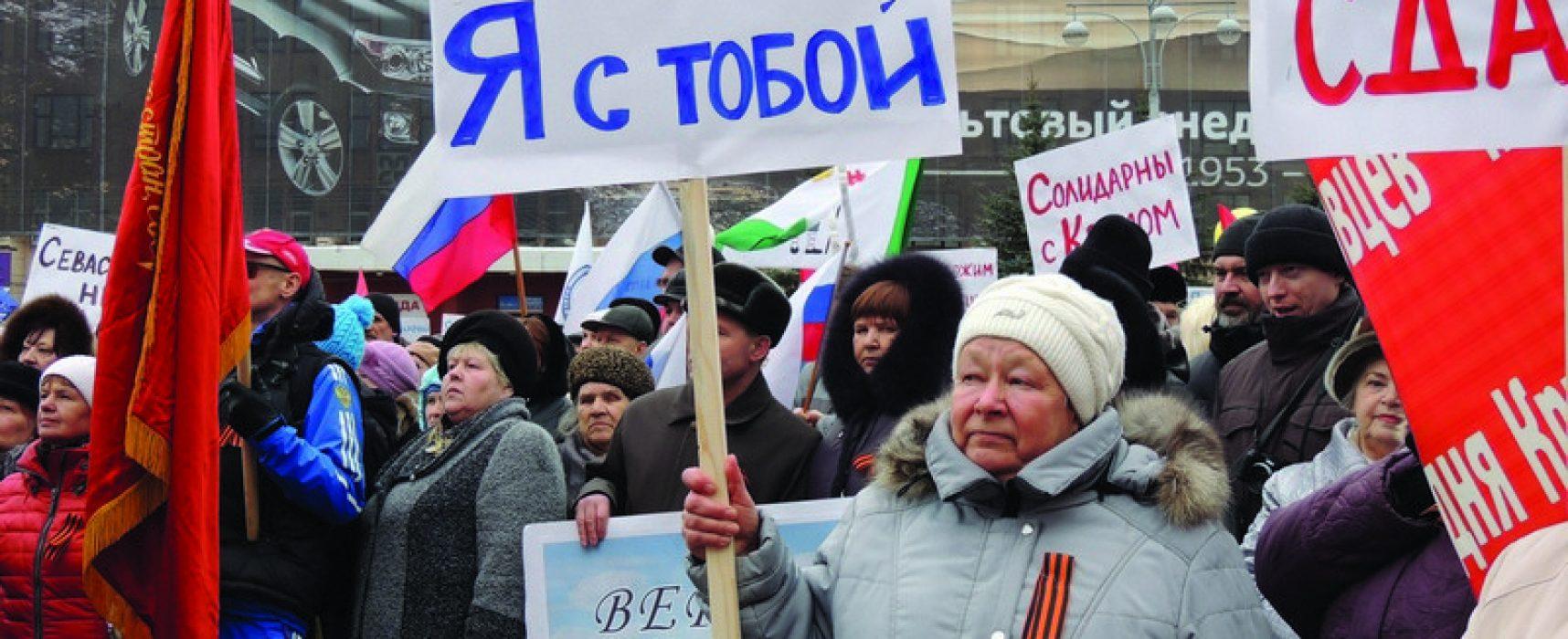 Podlézavost a pocity viny: Putinovci mezi ruskou diasporou