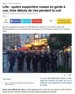 Скриншот сайта lavoixdunord.fr