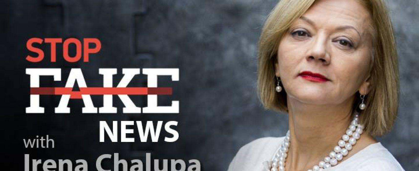 StopFakeNews #87 with Irena Chalupa