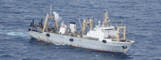 El supuesto barco con que llegaron los miembros del Sector Derecho a Marsella