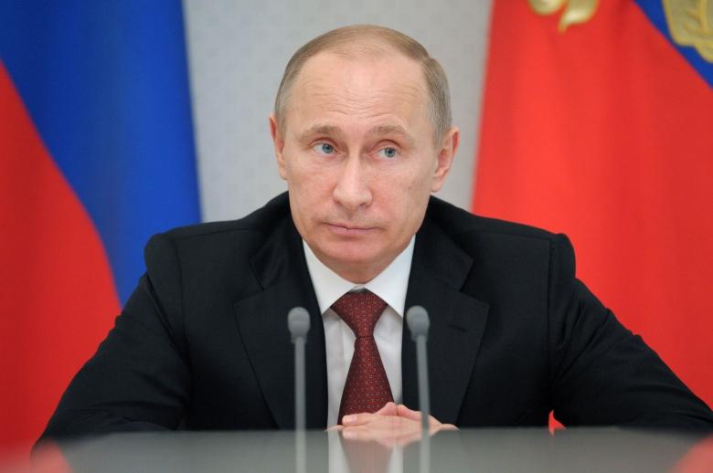 Illustration: Vladimir Poutine par politrussia.com
