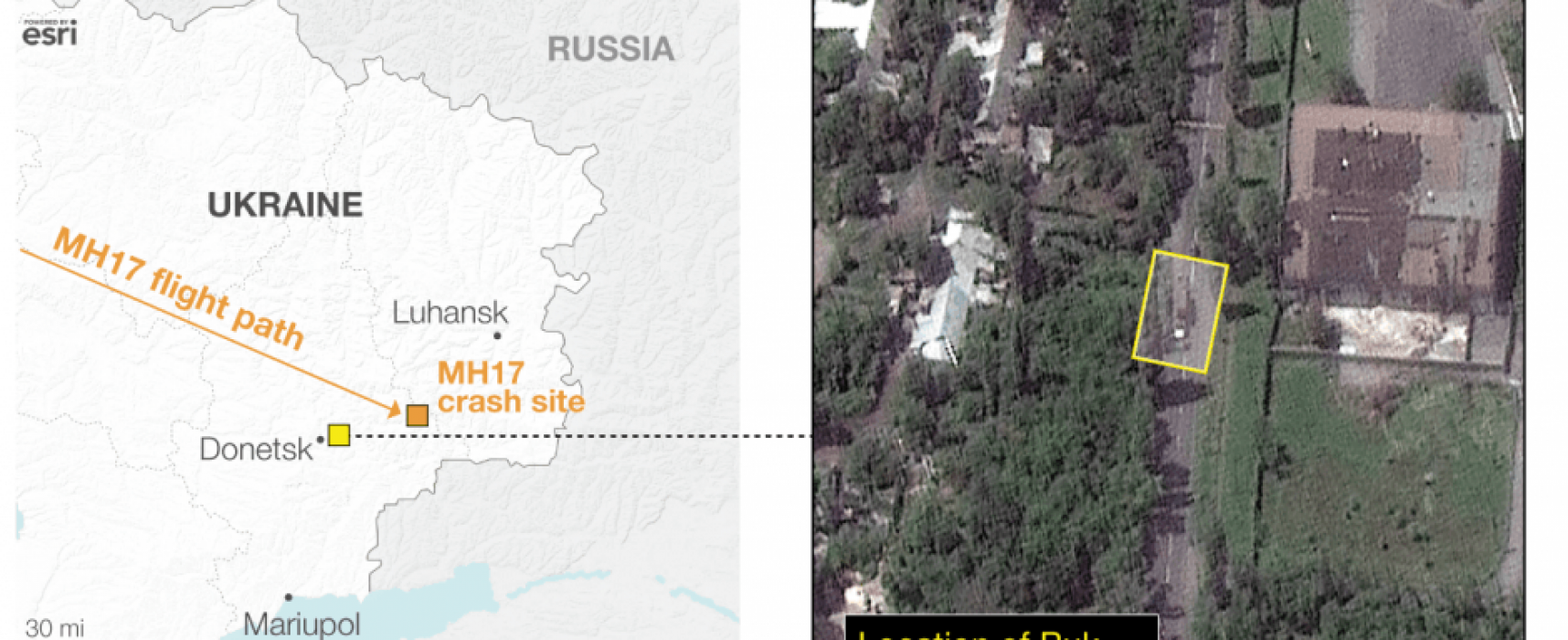 New Google Earth Satellite Update Confirms Presence of Buk in Eastern Ukraine