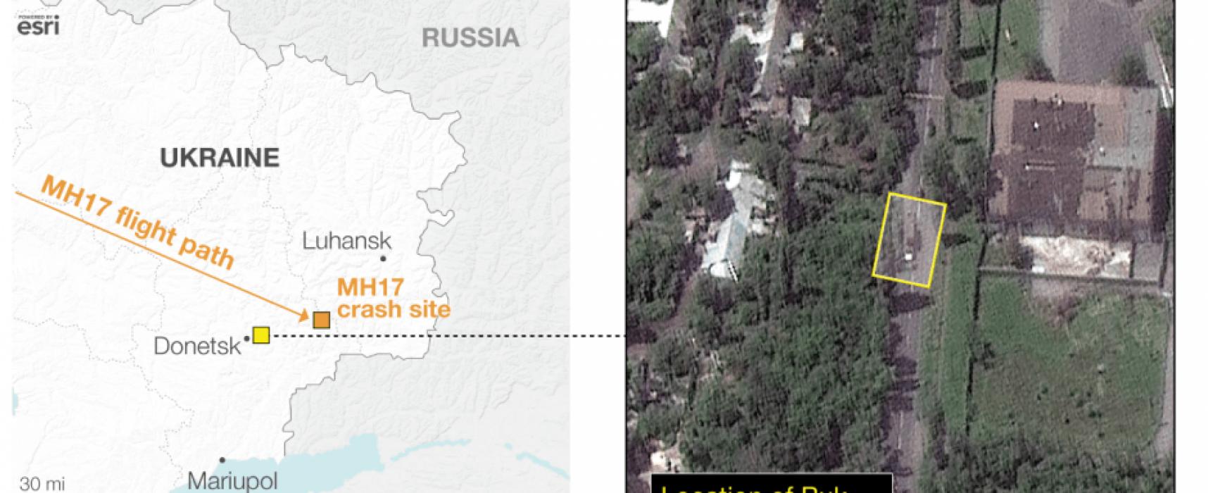 Nuevas imágenes del satélite de Google Earth confirman la presencia de un Buk en Ucrania del este