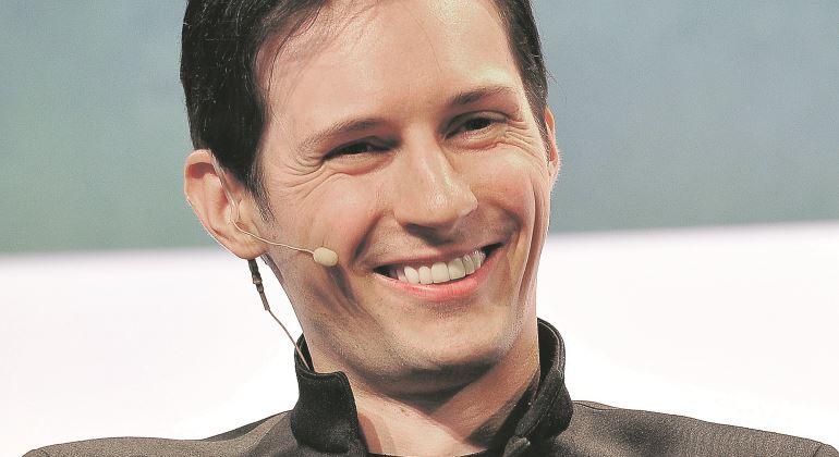 Pavel Durov, fundador de Telegram, durante una conferencia. Imagen de Getty