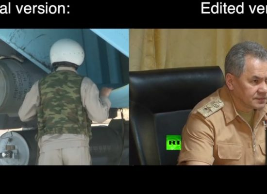 Russian state television accidentally broadcasts evidence that Moscow uses cluster bombs in Syria