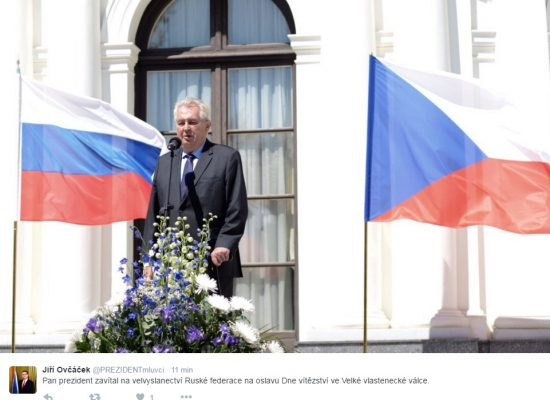 Roční otisk ruské stopy v České republice
