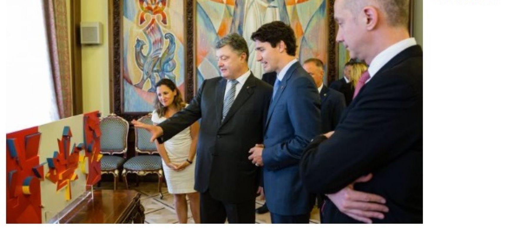 Fake: l'Amministrazione del Presidente ucraino non sa chi ha fondato il Canada