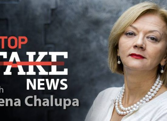 StopFakeNews #89 [ENG] with Irena Chalupa