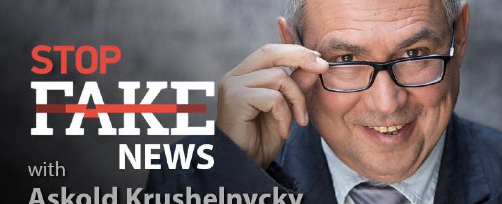StopFakeNews #92 [Engels] met Askold Krushelnycky