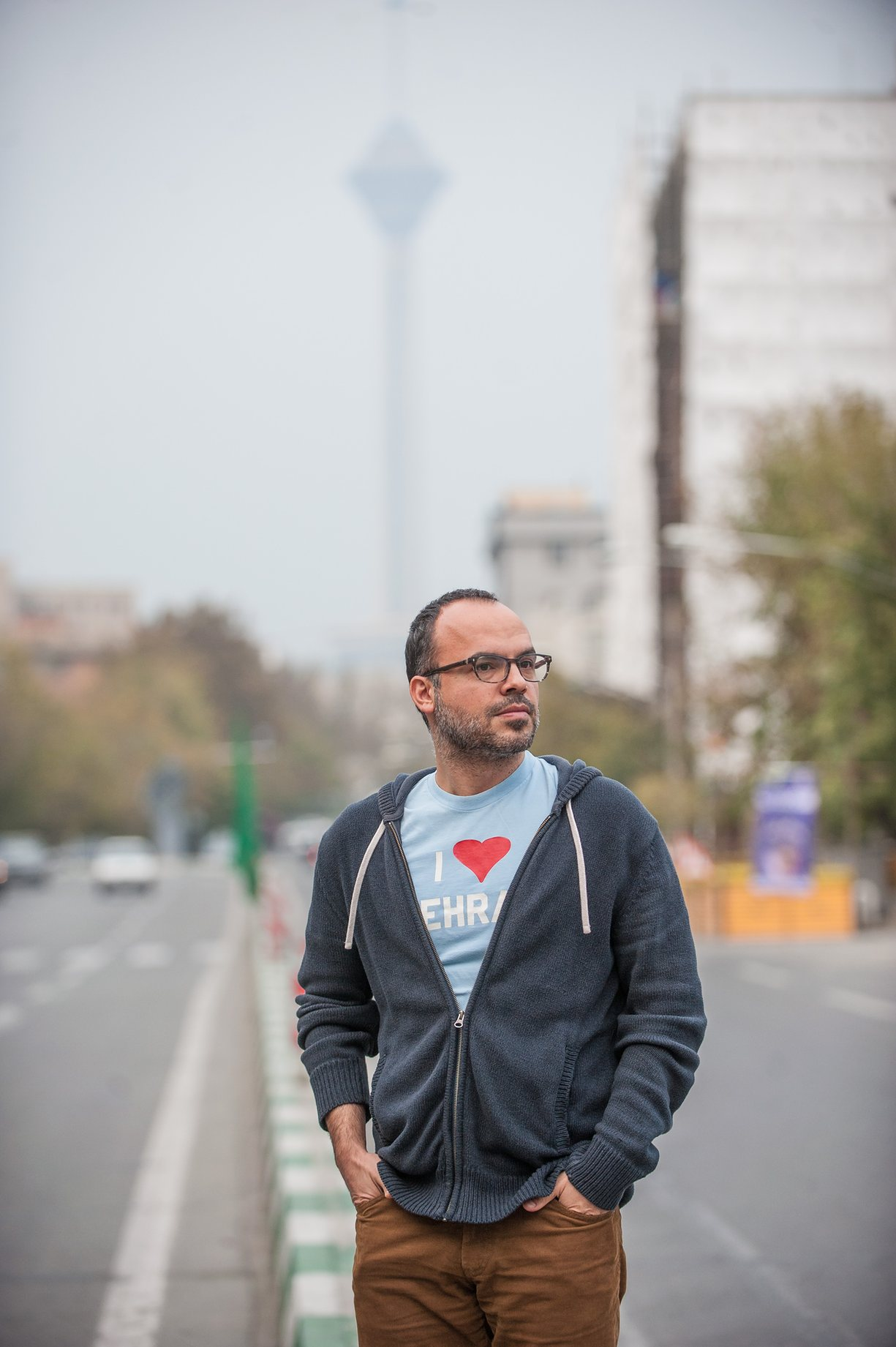 'The centralisation of information is making us all much less powerful' … Iranian blogger Hossein Derakhshan, who was imprisoned for six years. Photograph: Arash Ashoorinia for the Guardian