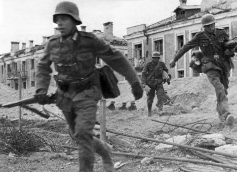 German soldiers during Battle of Stalingrad — Photo: Wikipedia