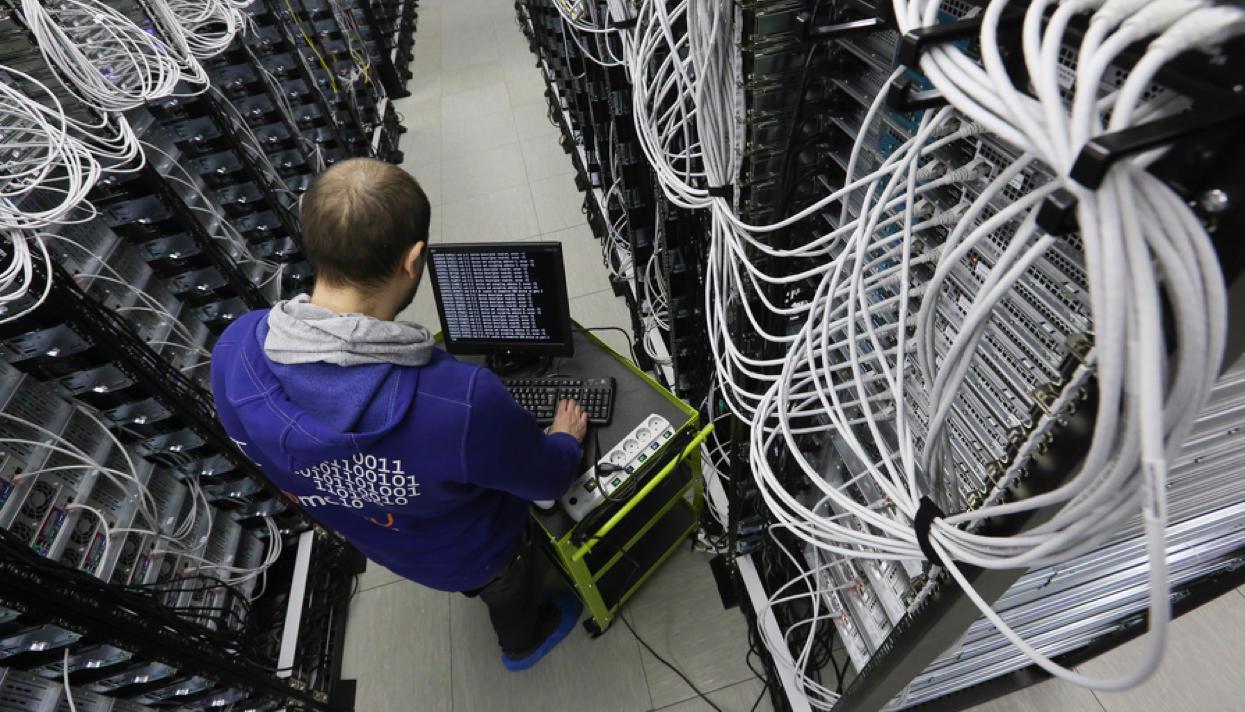 A Mail.ru data center. Photo: Denis Abramov / Vedomosti / fotoimedia