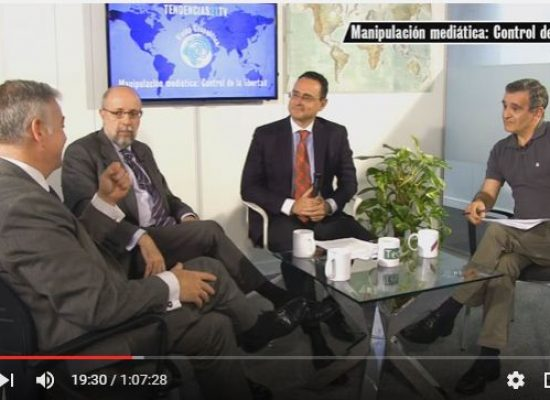 Visión Geopolítica Manipulación Mediática: Control de la libertad