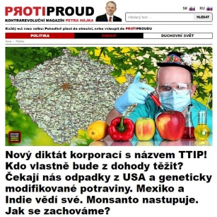 """""""New dictatorship of MNCs called TTIP! Who will actually benefit from the deal? The garbage from USA and genetically modified food await us. Mexico and India know better. Monsanto is coming. How shall we behave?"""""""