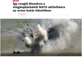 """""""This is the way Russia reacts to doubled NATO activity near Russian borders."""""""