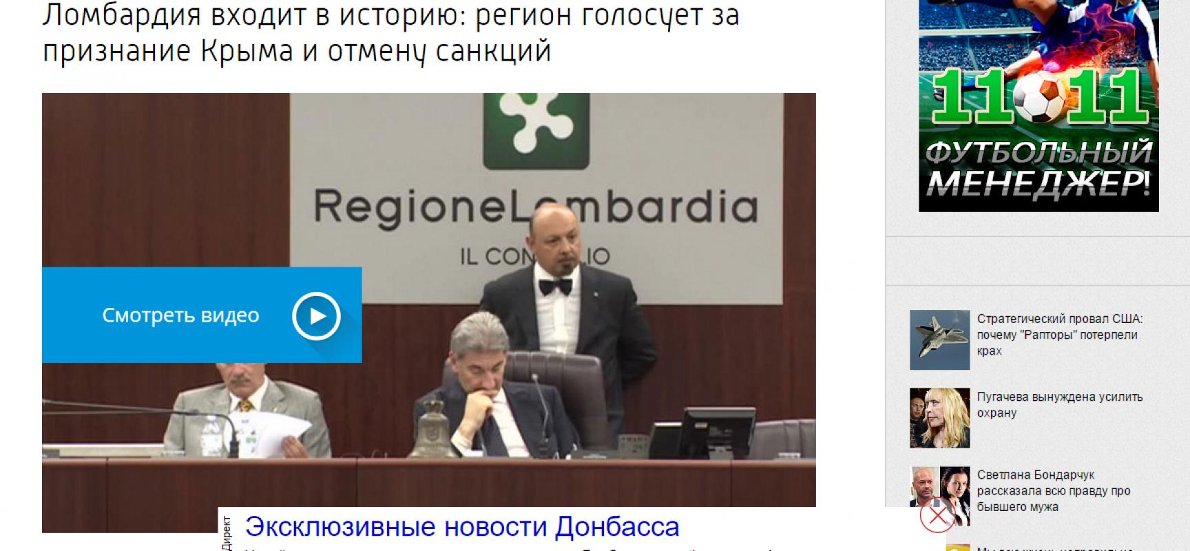 Ma Salvini è un politico italiano o russo ?