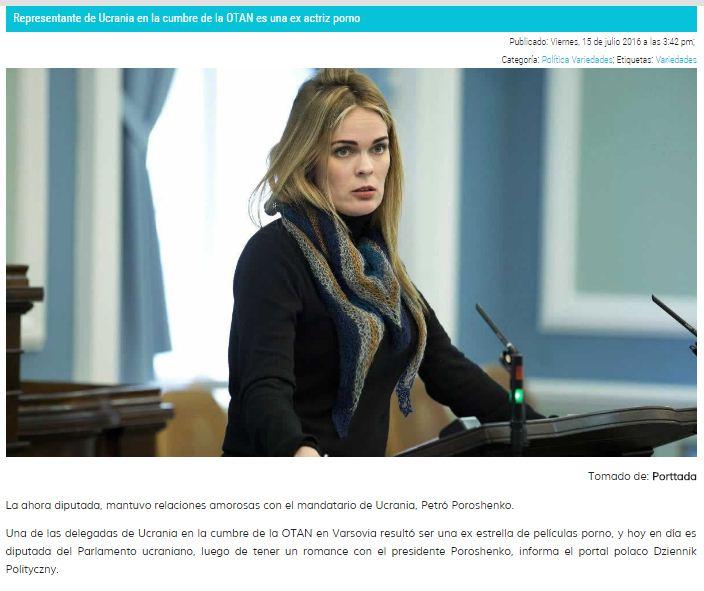 Captura de pantalla de Viva Nicaragua con la foto de otra persona