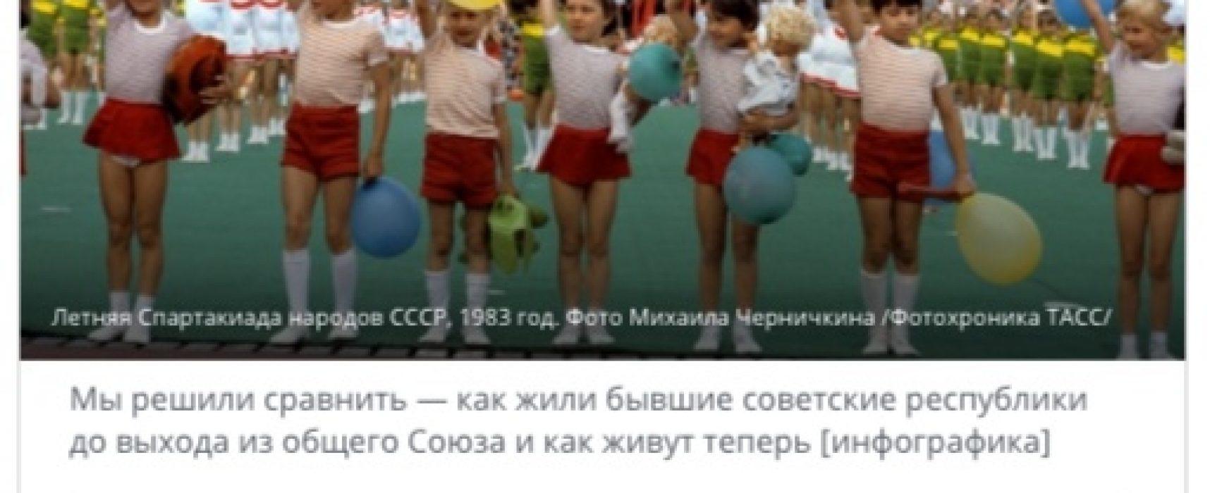 """Фейк: Кой кого е """"хранил"""" по време на СССР и как се е възстановил след разпада на СССР"""