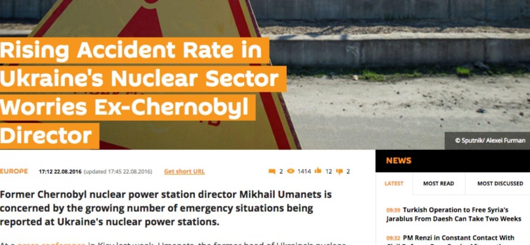 Fake: Il crollo dell'energia nucleare in Ucraina