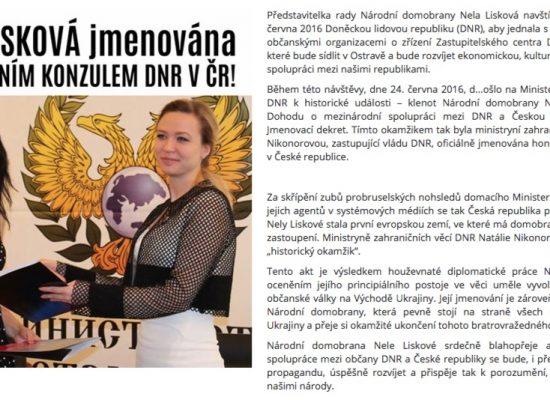 Фейк: В Чехии откроется представительство так называемой «ДНР»