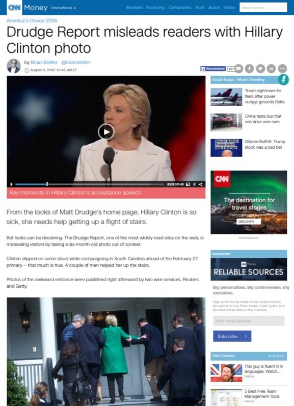 Скриншот сайта money.cnn.com