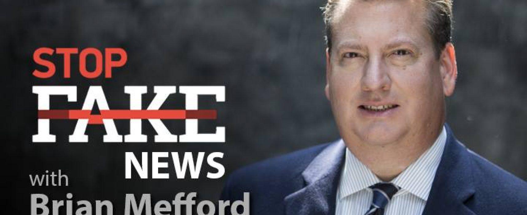 StopFakeNews #93 [Engels] met Brian Mefford