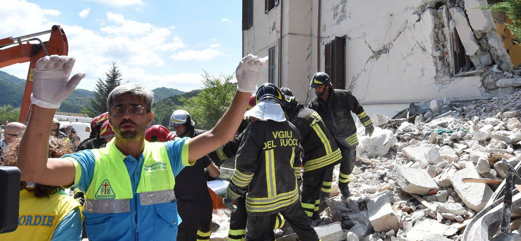 Fake : Putin invia 10.000 uomini per il terremoto in Italia