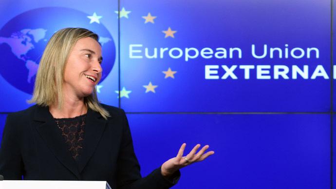 La jefa de la Política Exterior de la Unión, Federica Mogherini (Reuters/Francois Lenoir) | Reuters