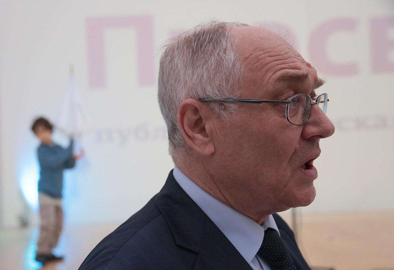 Лев Гудков. Фото: Павел Смертин / ТАСС