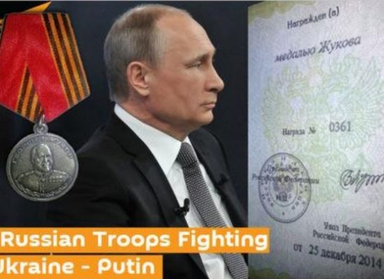 Russia's War in Ukraine: The Medals and Treacherous Numbers