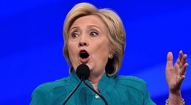 Hillary Clinton en Las Vegas, Nevada, EE.UU. 19 de julio de 2016. Foto vía REUTERS/David Becker