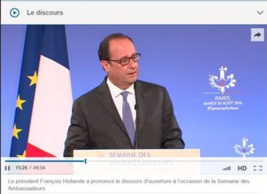 Fake: Hollande è spiaciuto per le sanzioni contro la Russia