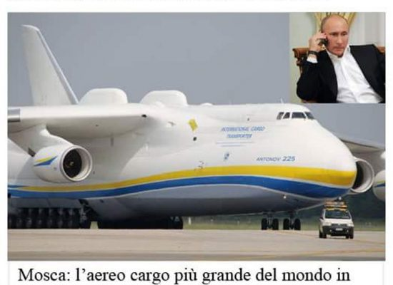 Fake : Putin aiuta i terremotati