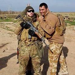 Cuvelier s'est fait un copain en Irak