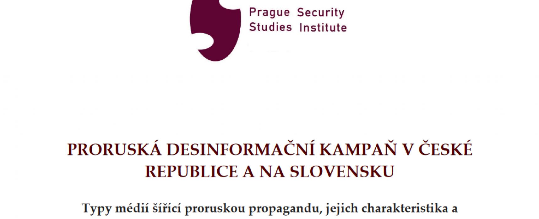 Proruská dezinformační kampaň v České republice a na Slovensku