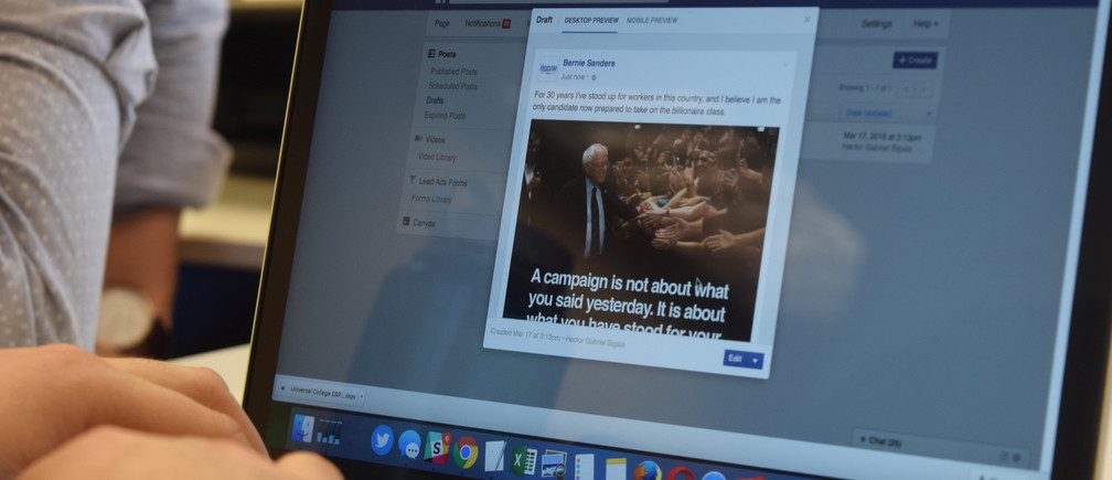 The internet was meant to spread democracy. Could it be having the opposite effect? Image: REUTERS/Melissa Fares