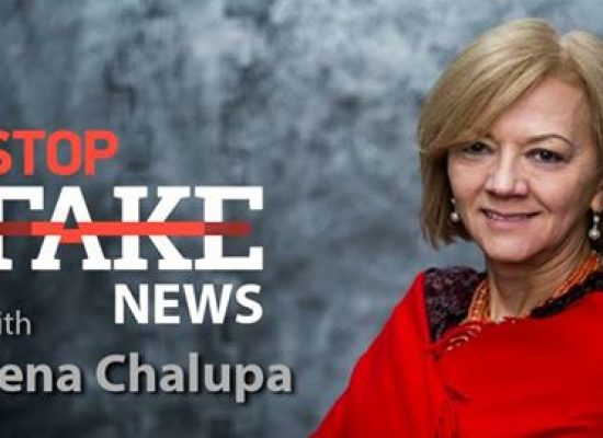 StopFakeNews #100 with Irena Chalupa