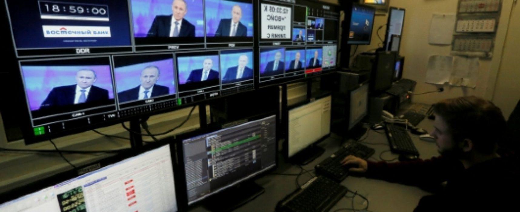 La guerre de l'information que livre Poutine au reste du monde