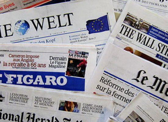 Как се изменяше отношението към Украйна в западните СМИ