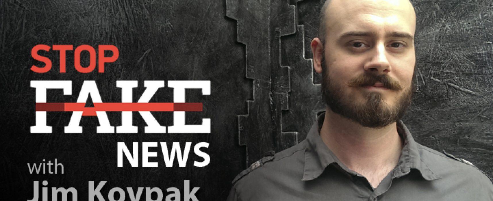 StopFakeNews #98 [Engels] met Jim Kovpak