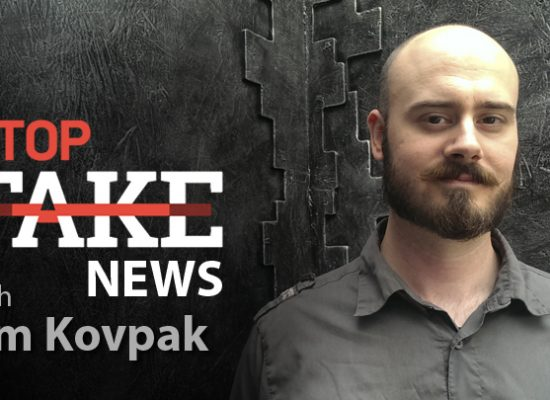 StopFakeNews #98 [ENG] with Jim Kovpak