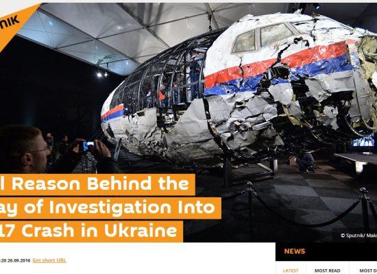 Как Россия готовилась к нидерландскому отчету по «Боингу 777»