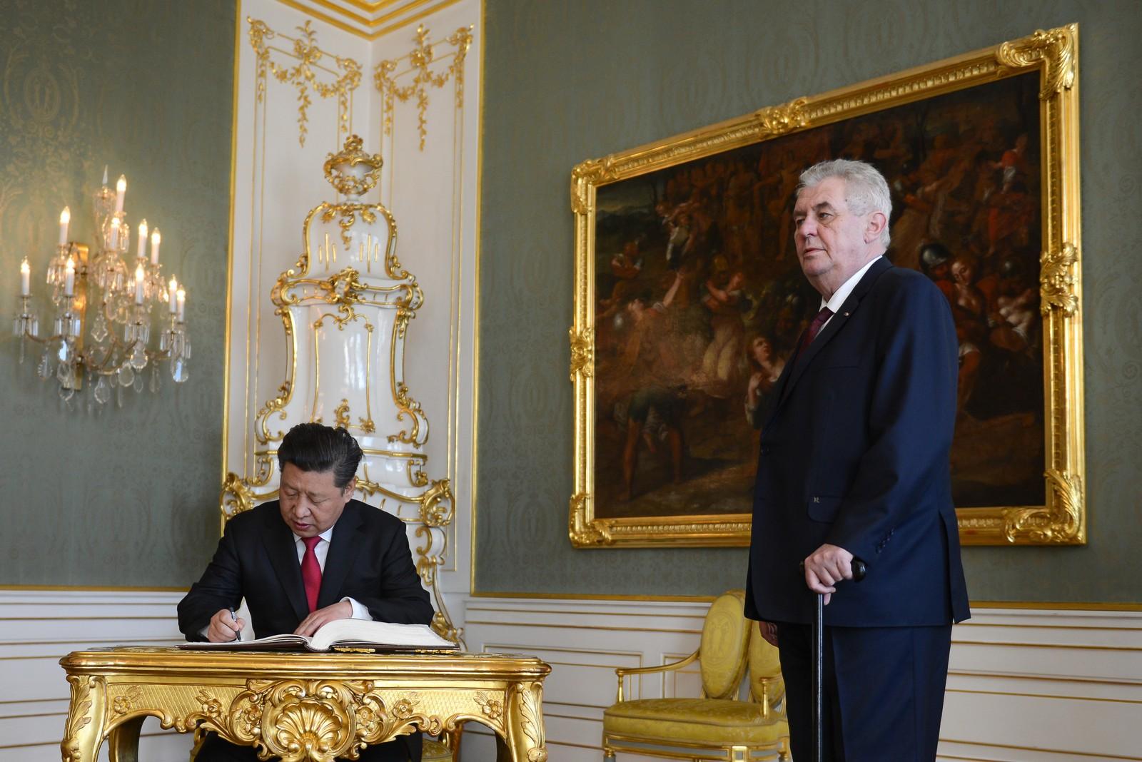 Illustration: le bureau du président de la République Tchèque