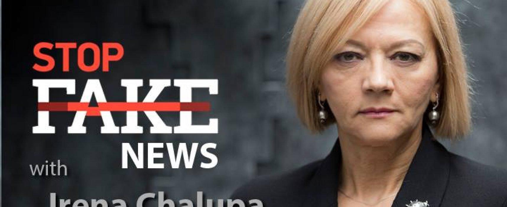 StopFakeNews #101 with Irena Chalupa