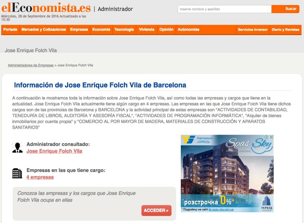 Скриншот ElEcnomista.es